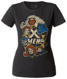 Juniors: Marvel: X-Men- Faces T-Shirt