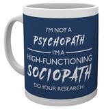 Sherlock - I'm not a Psychopath Mug Krus