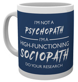 Sherlock - I'm not a Psychopath Mug Mug