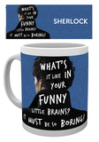 Sherlock - What's it like Mug Mug