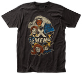 Marvel: X-Men- Faces T-Shirt