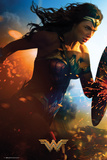 Wonder Woman- Run Affiches