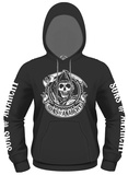 Hoodie: Sons Of Anarchy- Reaper Banner Sweat à capuche