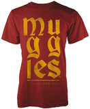 Harry Potter- Muggles Gothic Gold - T-shirt