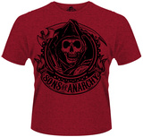 Sons Of Anarchy- Classic Reaper Banner T-shirts