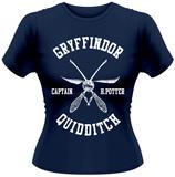 Women's: Harry Potter- Quidditch Captain T-Shirt