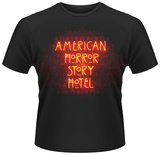 American Horror Story: Hotel - Paisley Neon Logo T-shirts