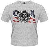 Sons Of Anarchy- Stars & Stripes Reaper Logo Shirts