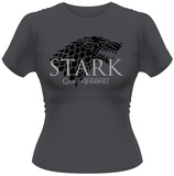 Juniors: Game Of Thrones- Stark Direwolf T-Shirt