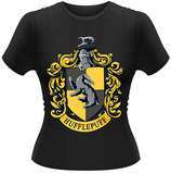 Juniors: Harry Potter- Hufflepuff Crest - Tişört