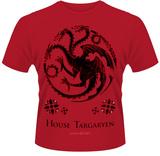 Game Of Thrones- House Of Targaryen Crest T-Shirt