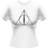 Women's: Harry Potter- Twilight Deathly Hallows Bluser