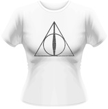 Women's: Harry Potter- Twilight Deathly Hallows Skjortor