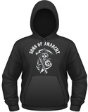 Hoodie: Sons Of Anarchy- Classic Reaper Logo Pullover Hoodie