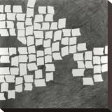 Wandering Grid 3 Stretched Canvas Print by Lynn Basa