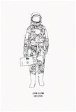 Mercury Pressure Suit - 1921-2016 Poster