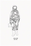 Mercury Pressure Suit - 1921-2016 Prints