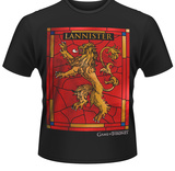 Game Of Thrones- House Lannister Crest T-shirts