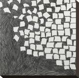 Wandering Grid 1 Stretched Canvas Print by Lynn Basa