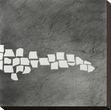 Wandering Grid 4 Stretched Canvas Print by Lynn Basa