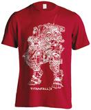 Titanfall 2- Scorch Schematic Maglietta