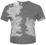 Game Of Thrones- Westeros Map Shirts