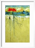 Deep Roots Framed Giclee Print by Ruth Palmer