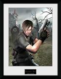 Resident Evil - Leon Graveyard Stampa del collezionista