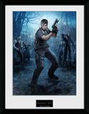 Resident Evil - Leon Gun Stampa del collezionista