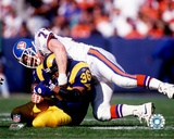 NFL: Karl Mecklenberg 1994 Action Photo