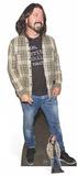 Dave Grohl - Check Shirt - Mini Cutout Included Silhouettes découpées en carton