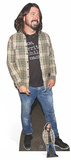 Dave Grohl - Check Shirt Silhouettes découpées en carton