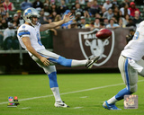 NFL: Sam Martin 2014 Action Photo