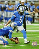 NFL: Matt Prater 2015 Action Photo