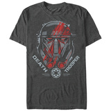 Star Wars: Rogue One- Death Trooper Helmet T-shirts