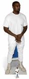 Kanye West - T-shirt Silhouettes découpées en carton