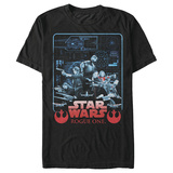 Star Wars: Rogue One- Crew Schematics T-shirts