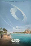 Star Wars: Rogue One- Deathstar Over Scarif Poster