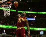 NBA: LeBron James 2016-17 Action Photo