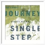 Longest Journey 1 Gerahmter Giclée-Druck von CJ Elliott