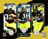 NFL: Franco Harris, Jerome Bettis, Le'Veon Bell Legacy Collection Photo