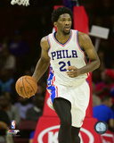 NBA: Joel Embiid 2016-17 Action Photo