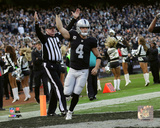NFL: Derek Carr 2016 Action Photo