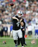 NFL: Derek Carr 2016 Action Photo
