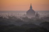 The Terraces of a Buddhist Temple in Bagan Photographic Print by Cory Richards