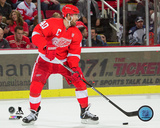 NHL: Henrik Zetterberg 2016-17 Action Photo