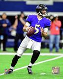 NFL: Joe Flacco 2016 Action Photo