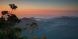 Sunrise Above Serra Do Mar State Park in Sao Paulo State, Brazil Photographic Print by Alex Saberi