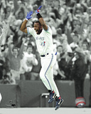 MLB: Joe Carter 1993 World Series Celebration Spotlight Photo