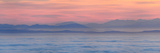 Thick Fog over Strait of Juan De Fuca During Sunrise from Hurricane Ridge Photographic Print by Raul Touzon